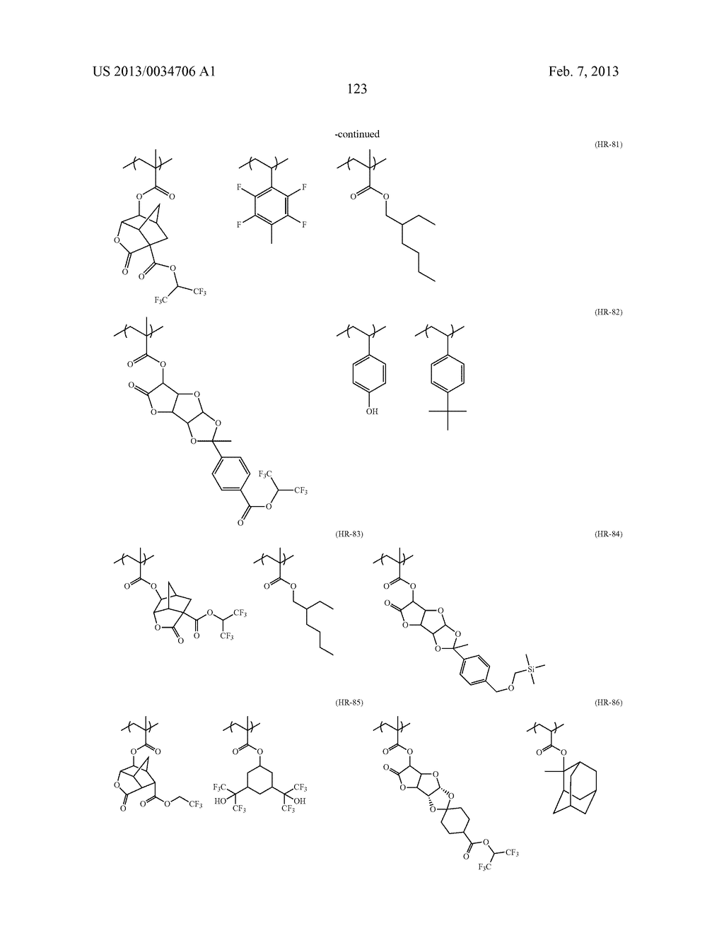 PATTERN FORMING METHOD, ACTINIC RAY-SENSITIVE OR RADIATION-SENSITIVE RESIN     COMPOSITION, RESIST FILM, PRODUCTION METHOD OF ELECTRONIC DEVICE, AND     ELECTRONIC DEVICE - diagram, schematic, and image 128