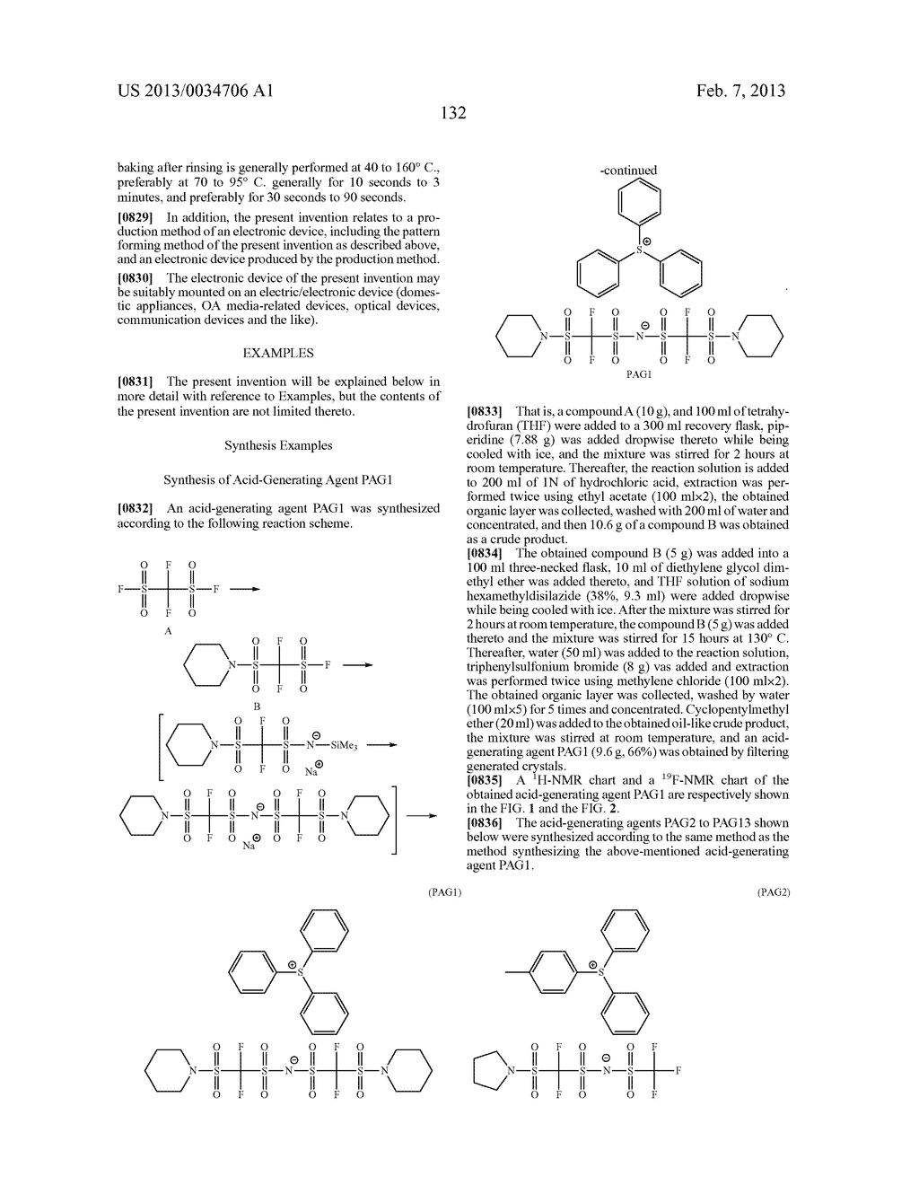 PATTERN FORMING METHOD, ACTINIC RAY-SENSITIVE OR RADIATION-SENSITIVE RESIN     COMPOSITION, RESIST FILM, PRODUCTION METHOD OF ELECTRONIC DEVICE, AND     ELECTRONIC DEVICE - diagram, schematic, and image 137