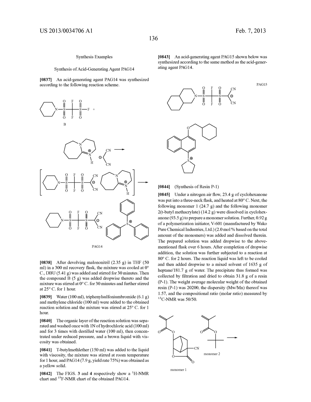 PATTERN FORMING METHOD, ACTINIC RAY-SENSITIVE OR RADIATION-SENSITIVE RESIN     COMPOSITION, RESIST FILM, PRODUCTION METHOD OF ELECTRONIC DEVICE, AND     ELECTRONIC DEVICE - diagram, schematic, and image 141