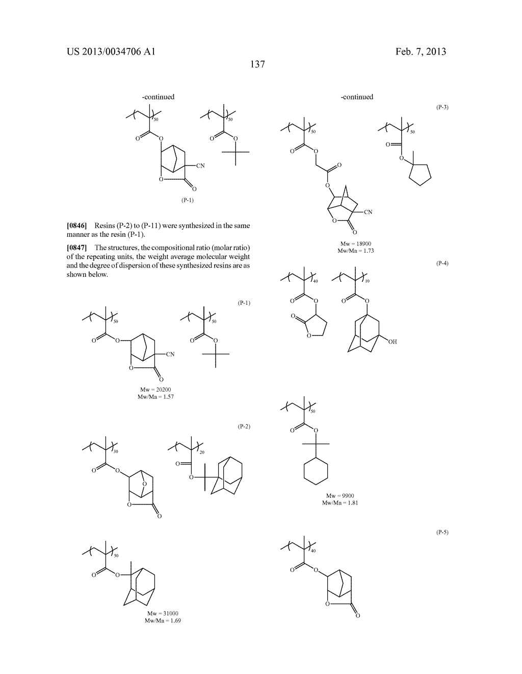 PATTERN FORMING METHOD, ACTINIC RAY-SENSITIVE OR RADIATION-SENSITIVE RESIN     COMPOSITION, RESIST FILM, PRODUCTION METHOD OF ELECTRONIC DEVICE, AND     ELECTRONIC DEVICE - diagram, schematic, and image 142