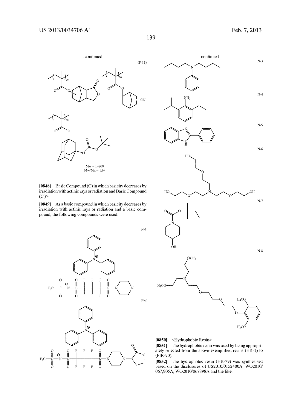 PATTERN FORMING METHOD, ACTINIC RAY-SENSITIVE OR RADIATION-SENSITIVE RESIN     COMPOSITION, RESIST FILM, PRODUCTION METHOD OF ELECTRONIC DEVICE, AND     ELECTRONIC DEVICE - diagram, schematic, and image 144