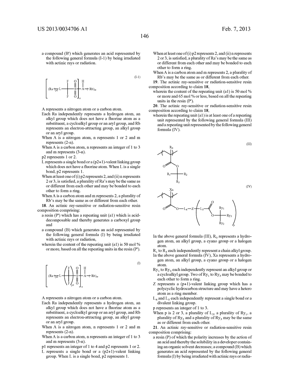 PATTERN FORMING METHOD, ACTINIC RAY-SENSITIVE OR RADIATION-SENSITIVE RESIN     COMPOSITION, RESIST FILM, PRODUCTION METHOD OF ELECTRONIC DEVICE, AND     ELECTRONIC DEVICE - diagram, schematic, and image 151