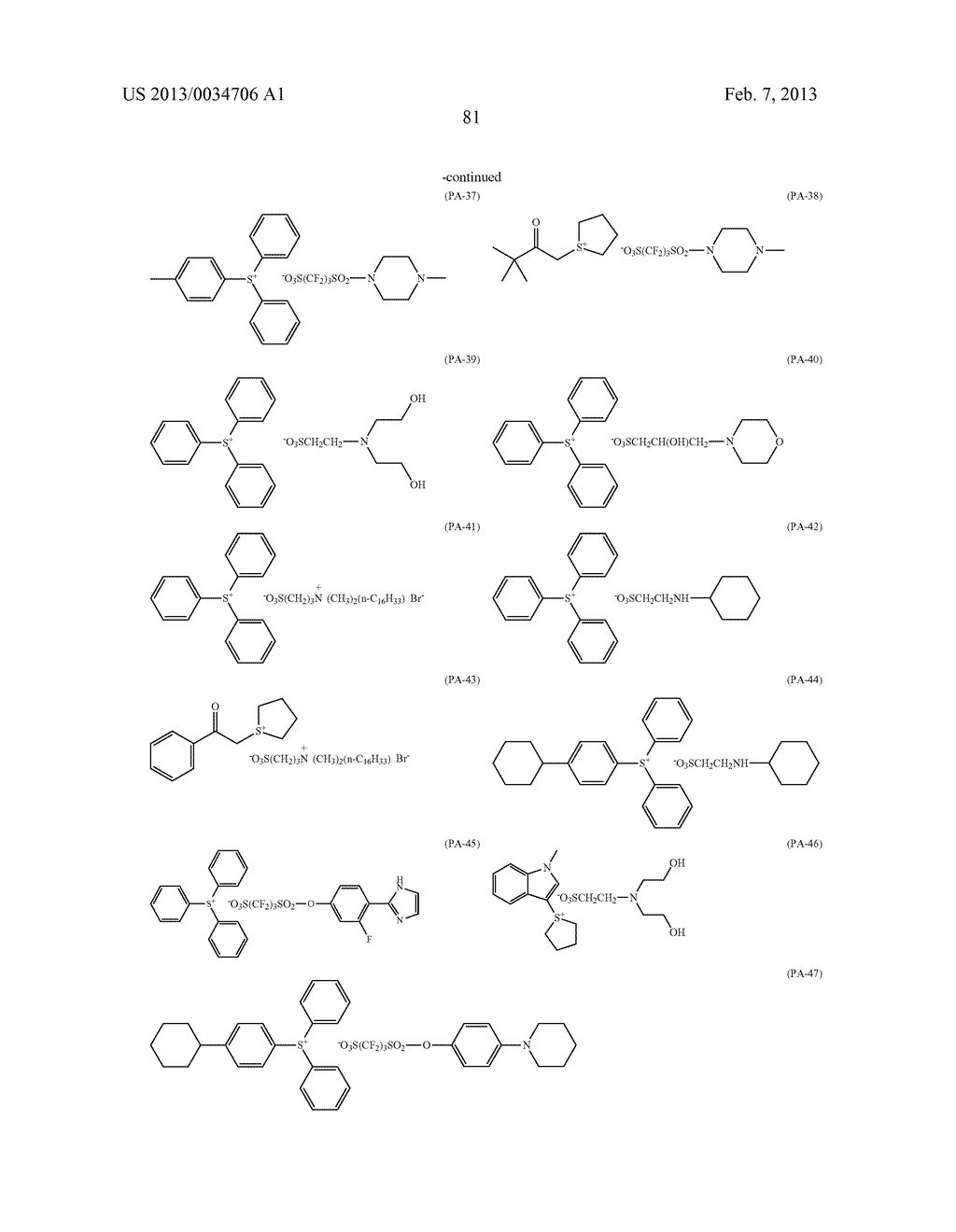 PATTERN FORMING METHOD, ACTINIC RAY-SENSITIVE OR RADIATION-SENSITIVE RESIN     COMPOSITION, RESIST FILM, PRODUCTION METHOD OF ELECTRONIC DEVICE, AND     ELECTRONIC DEVICE - diagram, schematic, and image 86