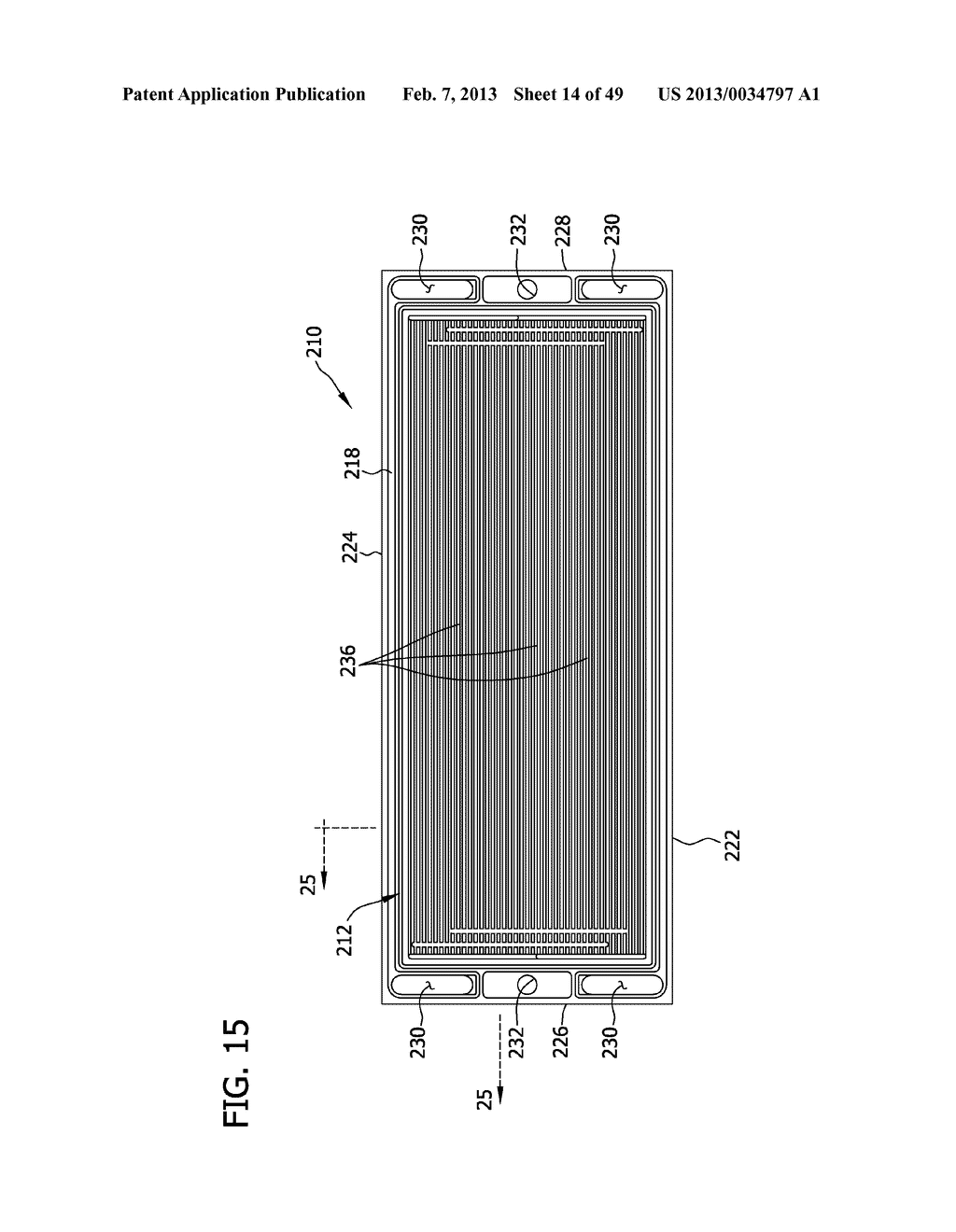 BIPOLAR PLATE ASSEMBLY HAVING AN ENCAPSULATED EDGE - diagram, schematic, and image 15