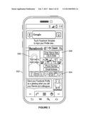 PHONE WITH MULTI-PORTAL ACCESS FOR DISPLAY DURING INCOMING AND OUTGOING     CALL diagram and image