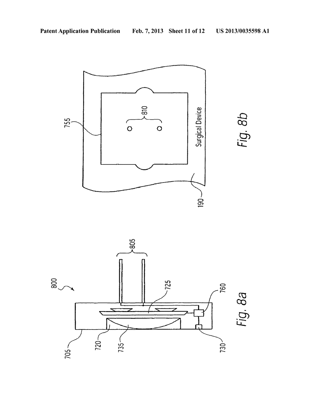 IMAGING DEVICE FOR USE WITH A SURGICAL DEVICE - diagram, schematic, and image 12