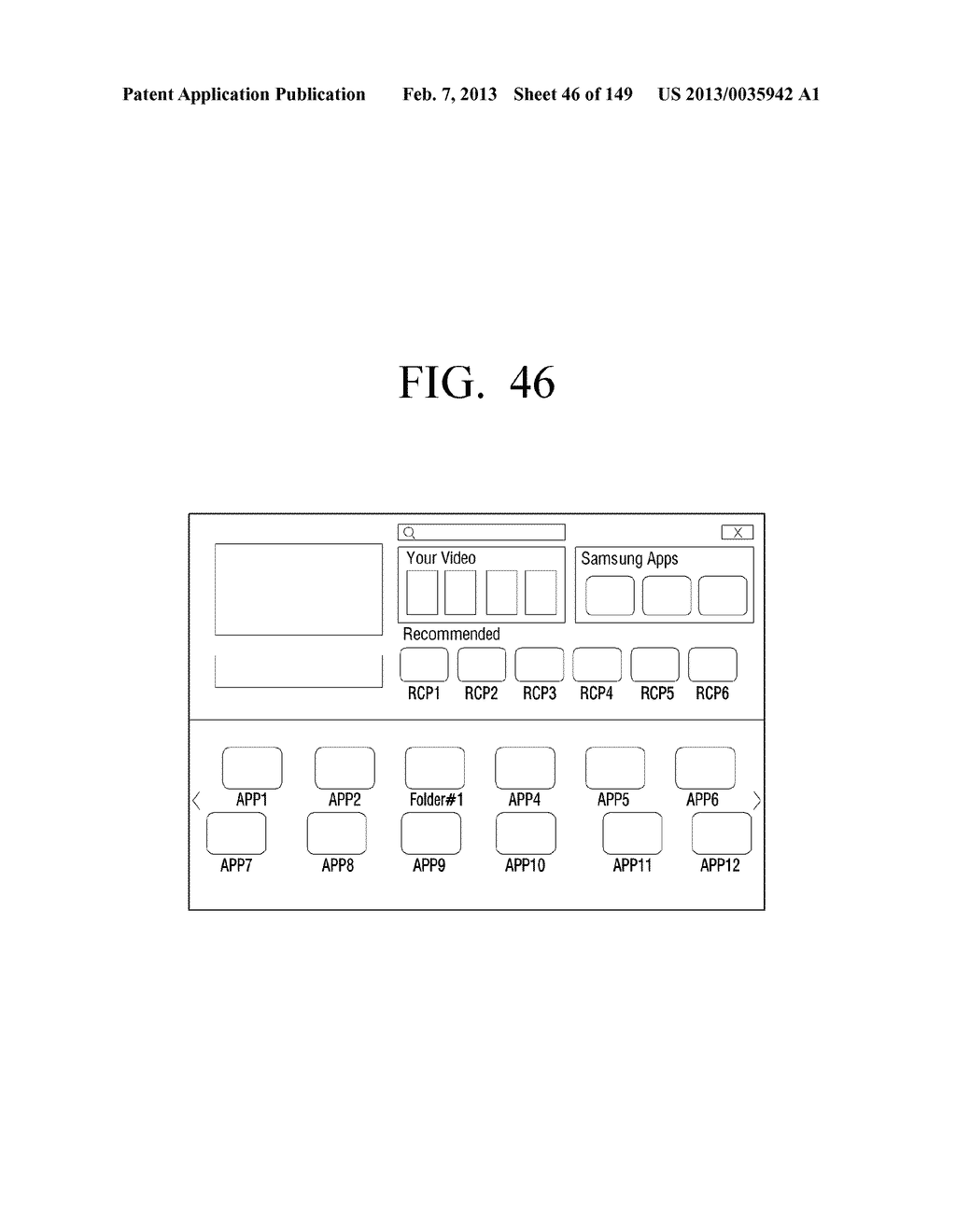 ELECTRONIC APPARATUS AND METHOD FOR PROVIDING USER INTERFACE THEREOF - diagram, schematic, and image 47