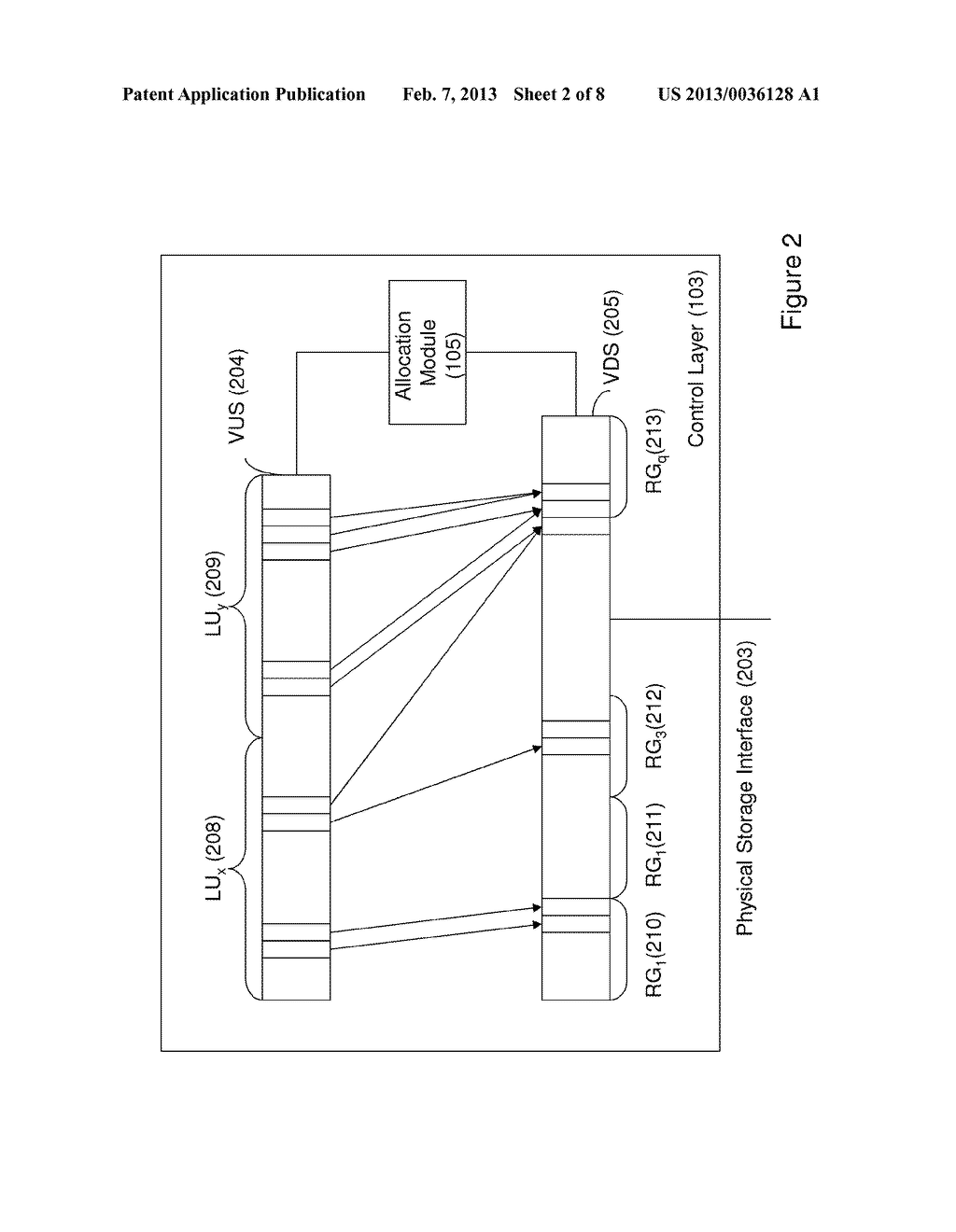 METHOD OF MIGRATING STORED DATA AND SYSTEM THEREOF - diagram, schematic, and image 03