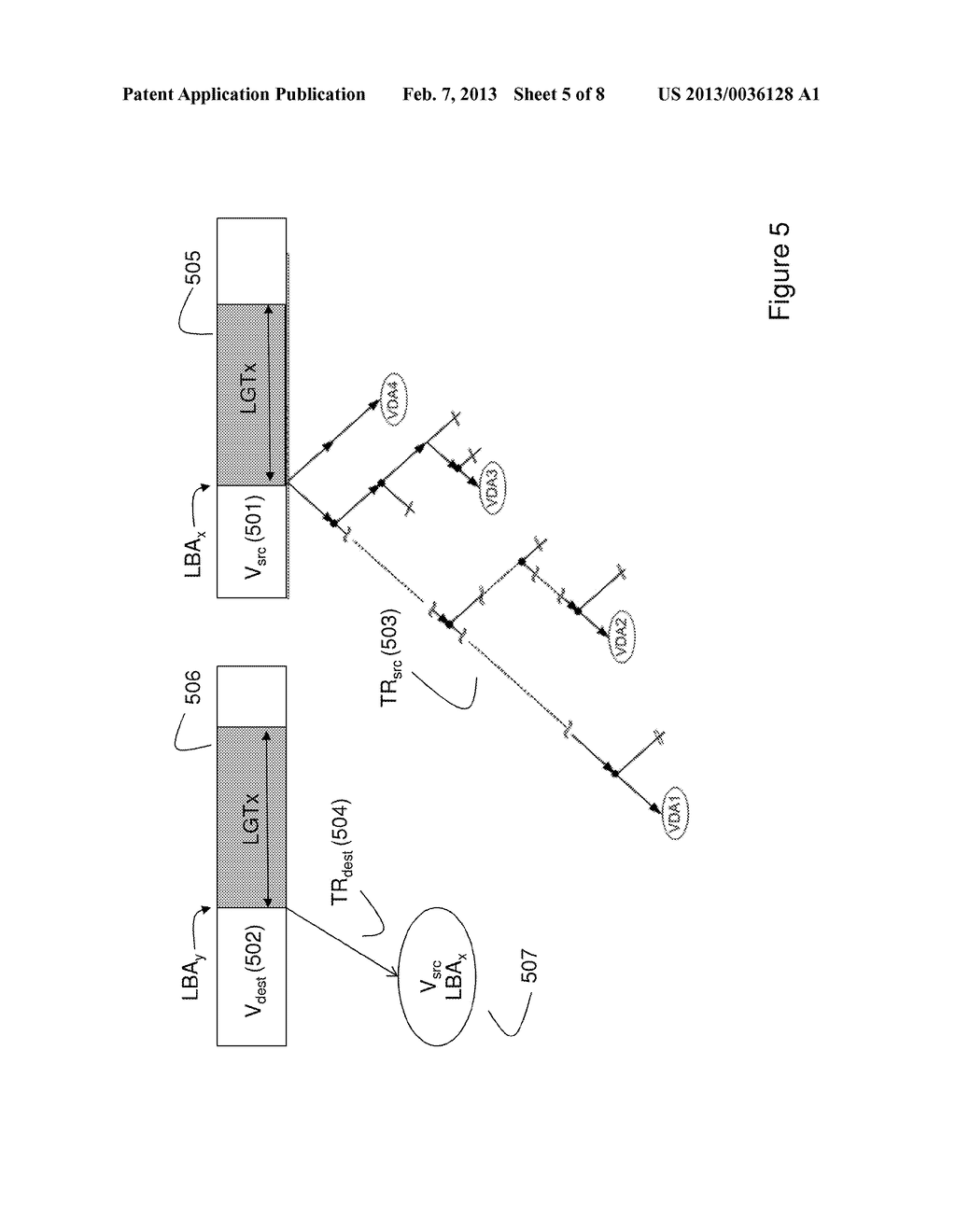 METHOD OF MIGRATING STORED DATA AND SYSTEM THEREOF - diagram, schematic, and image 06