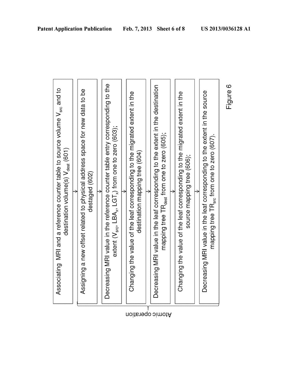 METHOD OF MIGRATING STORED DATA AND SYSTEM THEREOF - diagram, schematic, and image 07