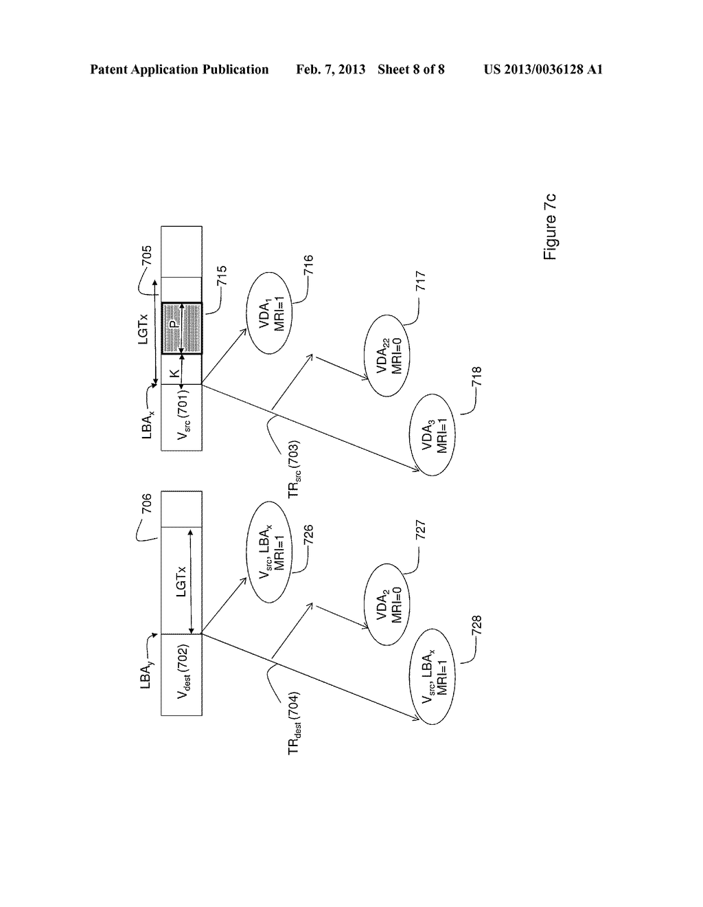 METHOD OF MIGRATING STORED DATA AND SYSTEM THEREOF - diagram, schematic, and image 09