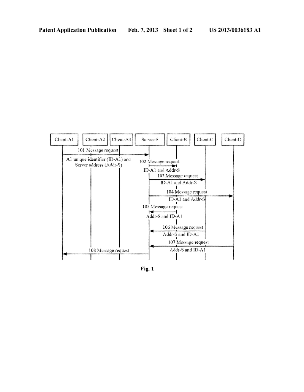 METHOD AND PROCESSING SYSTEM FOR ROUTING A MESSAGE REQUEST - diagram, schematic, and image 02