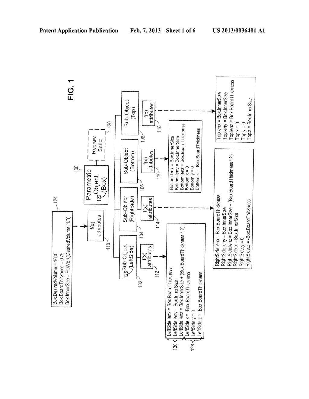 Method for Improving the Performance of Browser-Based, Formula-Driven     Parametric Objects - diagram, schematic, and image 02