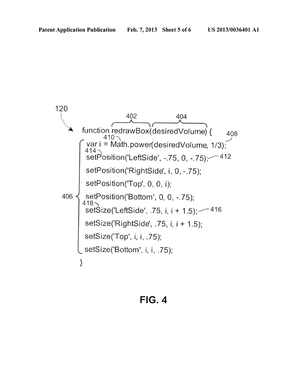 Method for Improving the Performance of Browser-Based, Formula-Driven     Parametric Objects - diagram, schematic, and image 06