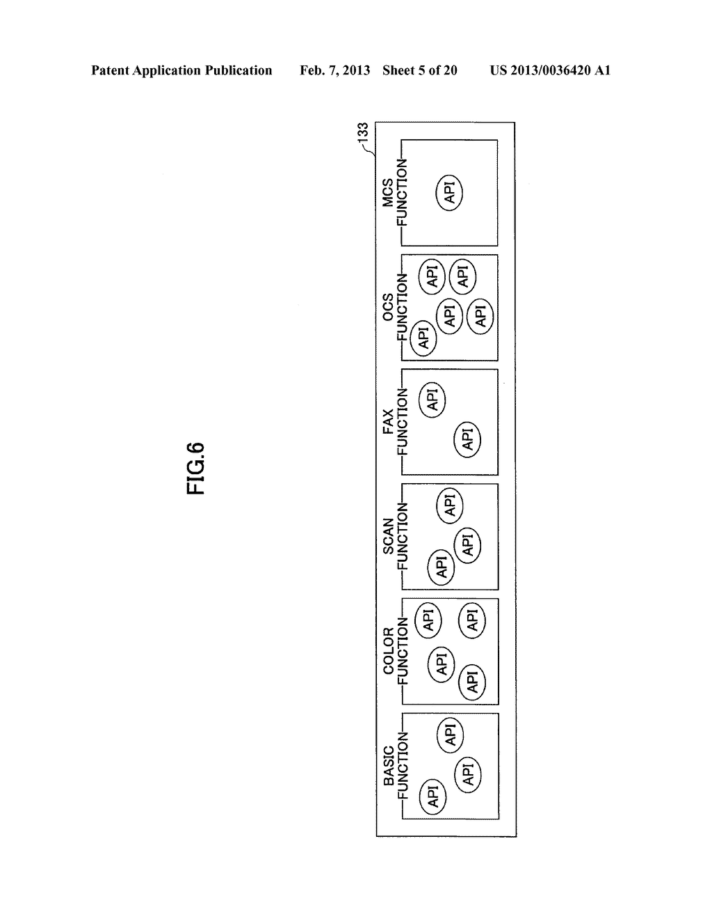 IMAGE FORMING APPARATUS FOR DETERMINING THE AVAILABILITY OF APPLICATION     PROGRAM INTERFACES - diagram, schematic, and image 06