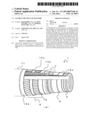 FLEXIBLE TUBE FOR FLUID TRANSPORT diagram and image