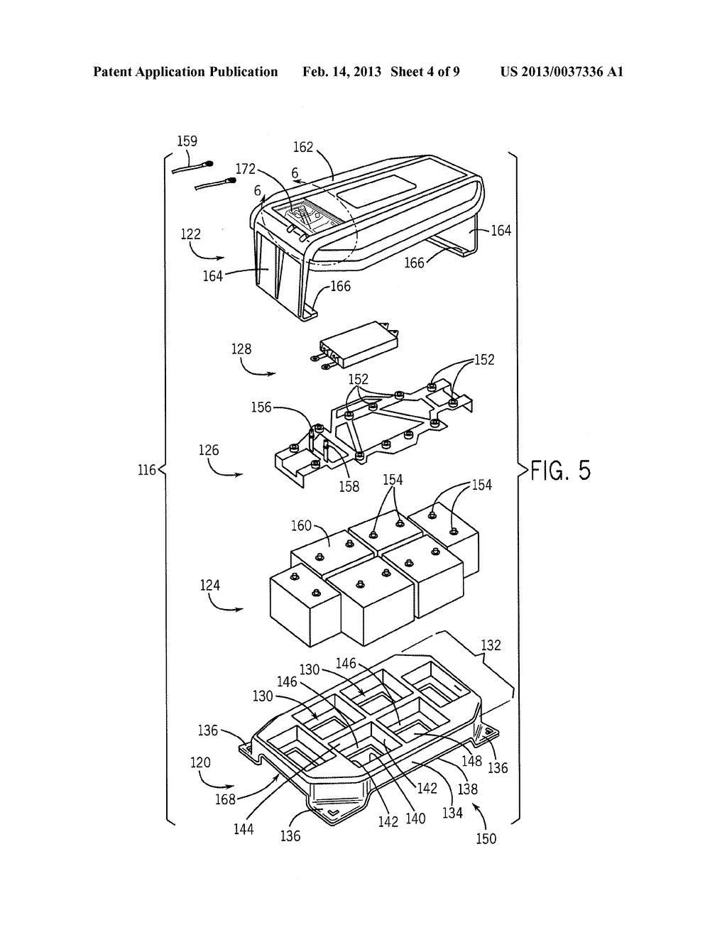 BATTERY SYSTEM, HOUSING & VEHICLE INCLUDING BATTERY SYSTEM - diagram, schematic, and image 05