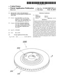 BRAKE DISC USING TWO DIFFERENT MATERIALS AND METHOD OF PRODUCING THE SAME diagram and image