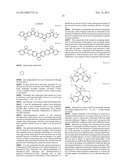 ELECTROLUMINESCENT MATERIALS COMPRISING FLUORENE DERIVATIVES diagram and image