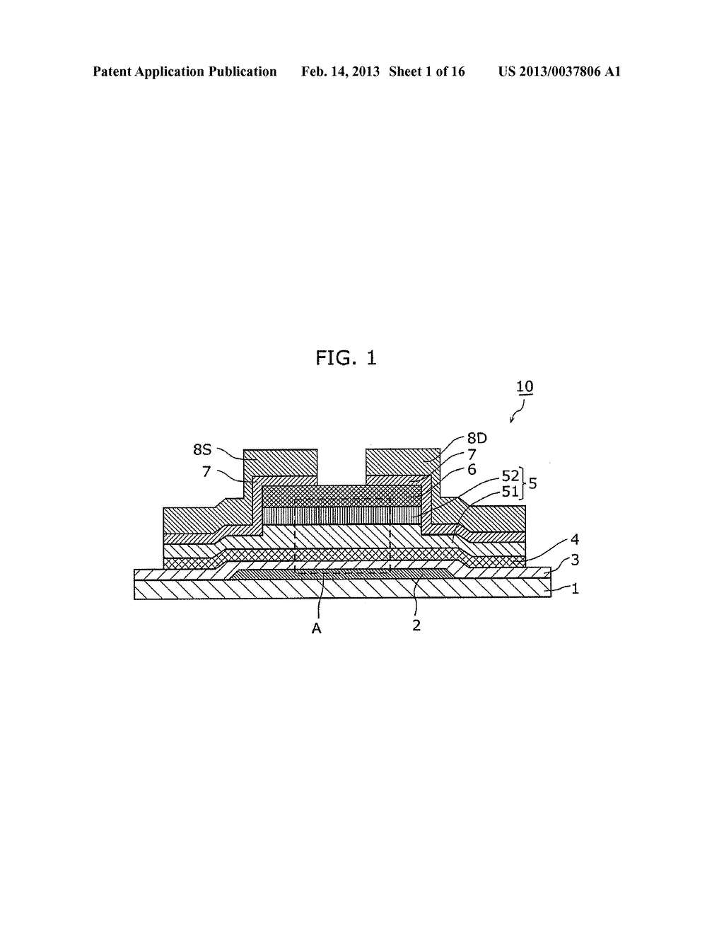 THIN-FILM SEMICONDUCTOR DEVICE AND METHOD OF MANUFACTURING THE SAME - diagram, schematic, and image 02