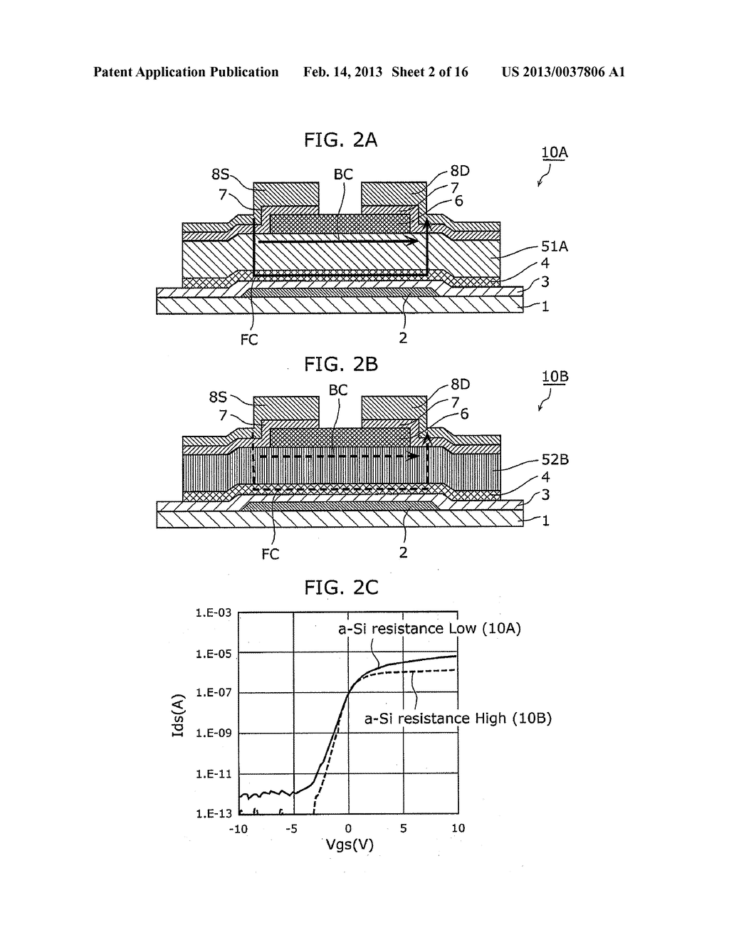 THIN-FILM SEMICONDUCTOR DEVICE AND METHOD OF MANUFACTURING THE SAME - diagram, schematic, and image 03
