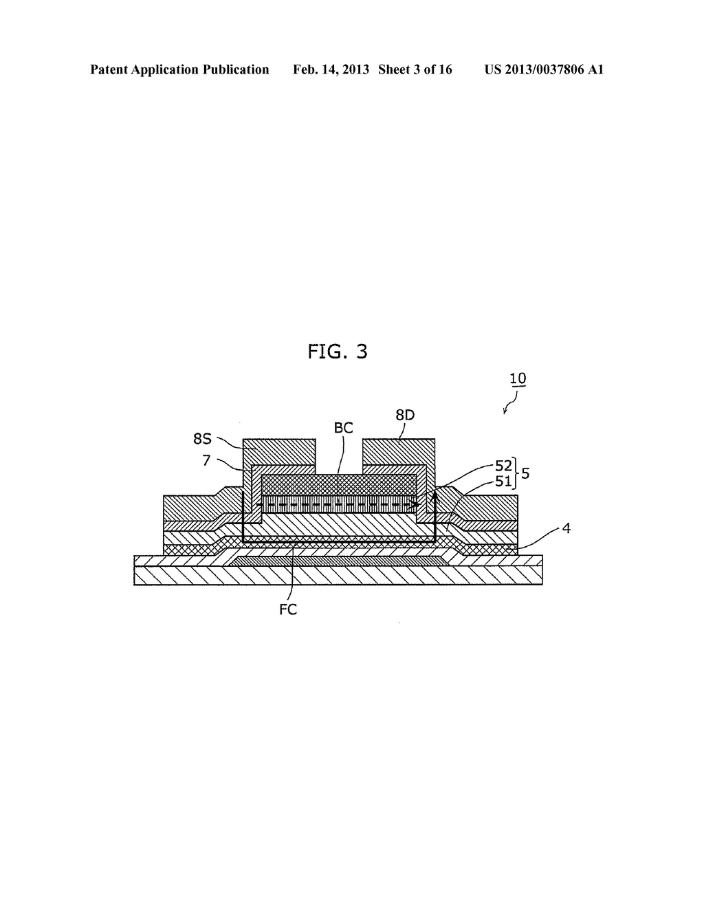 THIN-FILM SEMICONDUCTOR DEVICE AND METHOD OF MANUFACTURING THE SAME - diagram, schematic, and image 04