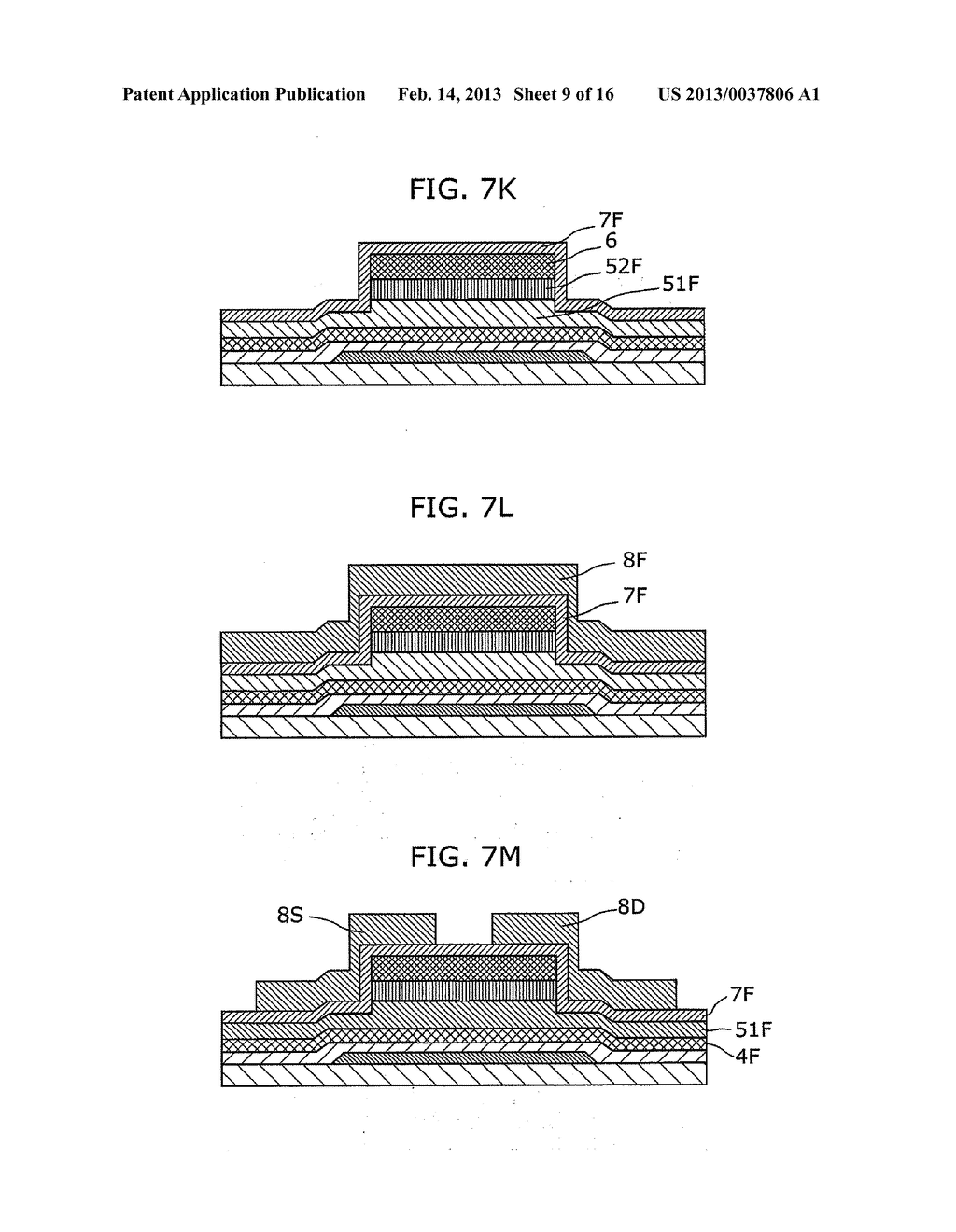 THIN-FILM SEMICONDUCTOR DEVICE AND METHOD OF MANUFACTURING THE SAME - diagram, schematic, and image 10