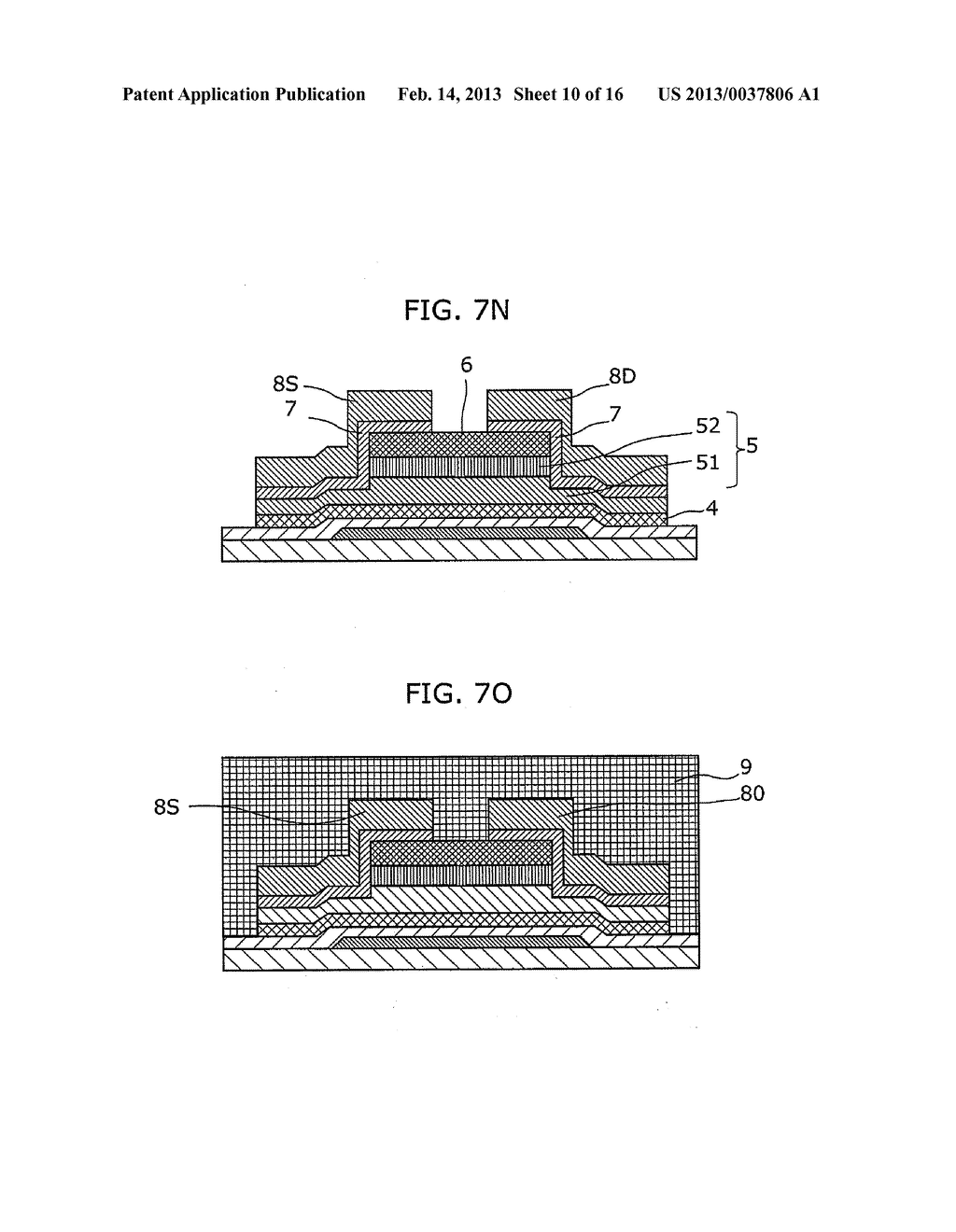 THIN-FILM SEMICONDUCTOR DEVICE AND METHOD OF MANUFACTURING THE SAME - diagram, schematic, and image 11