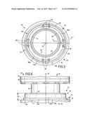 Multipiece cushioning assembly for a telescoping shock absorbing assembly diagram and image