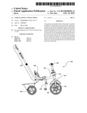 VEHICLE HAVING A SWIVEL WHEEL diagram and image