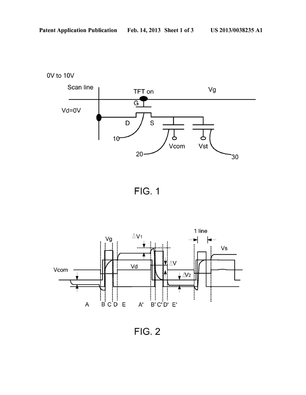 Driver of Promoting Pixel Charging Ability of Thin Film Transistor and     Method Thereof - diagram, schematic, and image 02