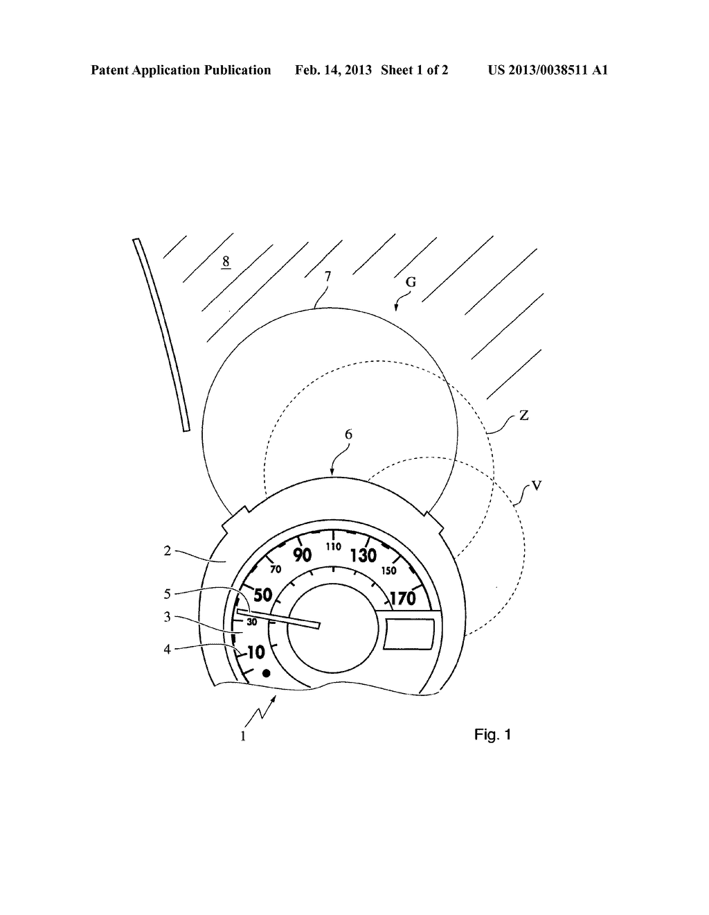 DISPLAY DEVICE, IN PARTICULAR FOR A MOTOR VEHICLE - diagram, schematic, and image 02