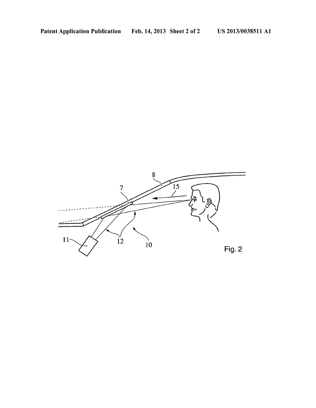 DISPLAY DEVICE, IN PARTICULAR FOR A MOTOR VEHICLE - diagram, schematic, and image 03