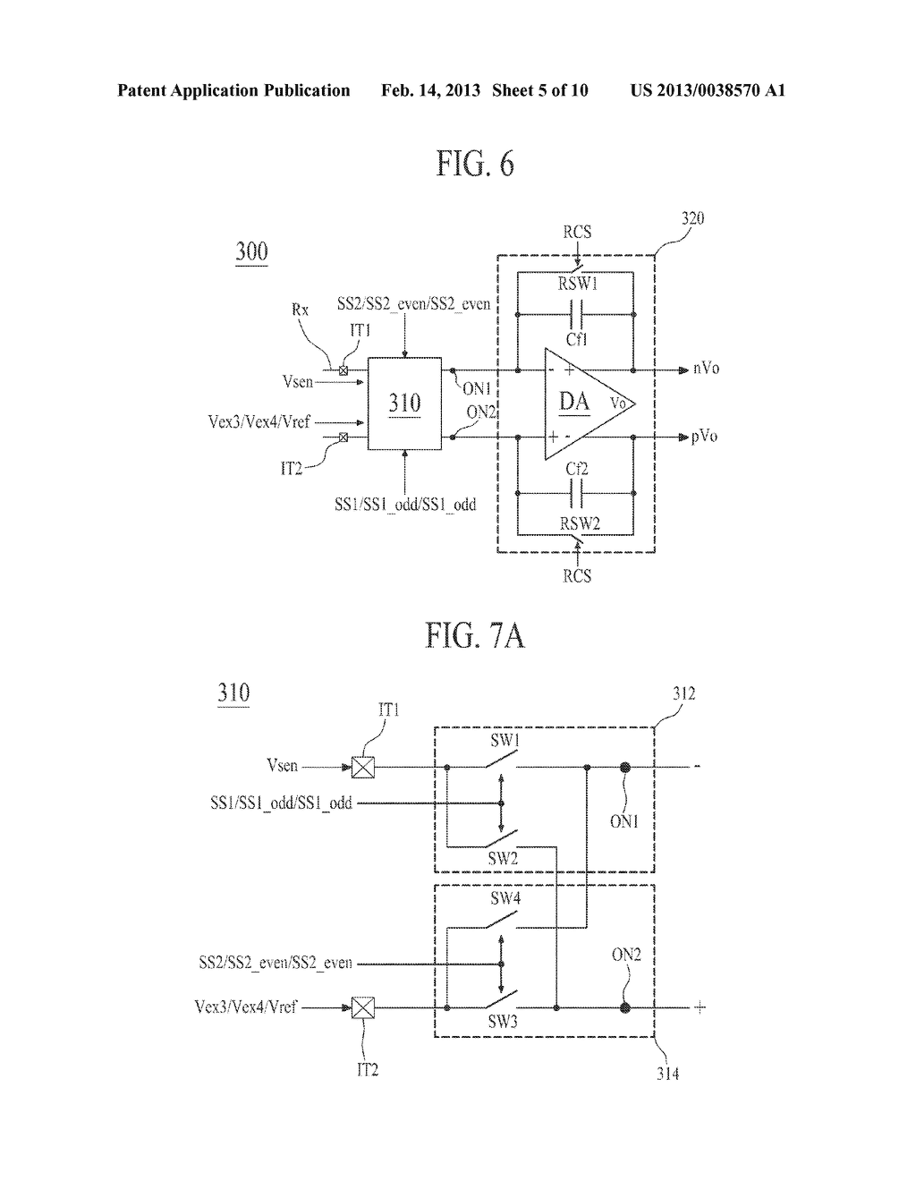 APPARATUS FOR DRIVING TOUCH PANEL AND DISPLAY APPARATUS COMPRISING THE     SAME - diagram, schematic, and image 06