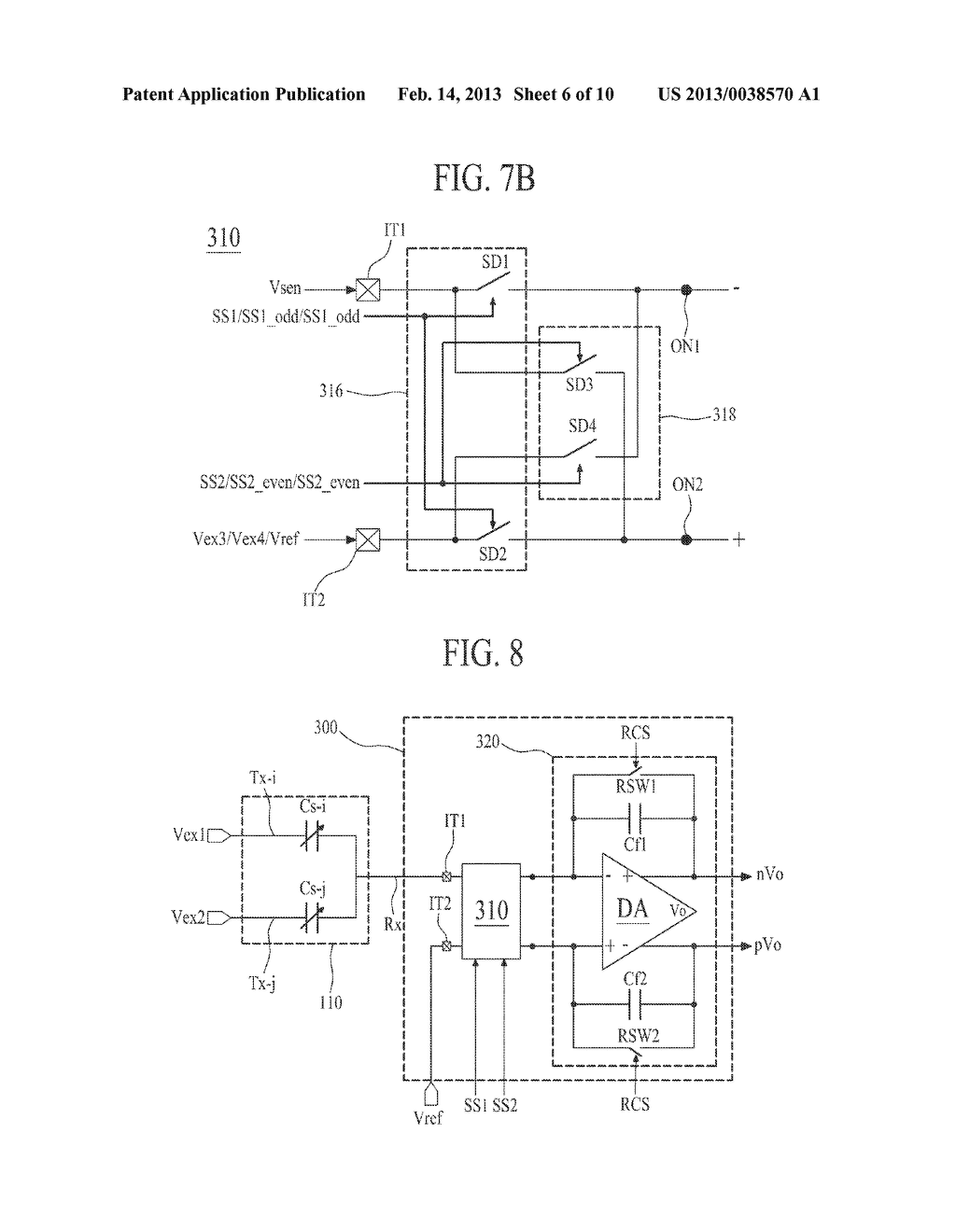 APPARATUS FOR DRIVING TOUCH PANEL AND DISPLAY APPARATUS COMPRISING THE     SAME - diagram, schematic, and image 07