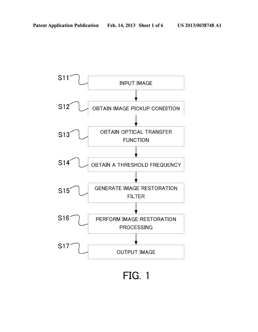 IMAGE PROCESSING APPARATUS, IMAGE PROCESSING METHOD, IMAGE PICKUP     APPARATUS, AND A NON-TRANSITORY COMPUTER-READABLE STORAGE MEDIUM - diagram, schematic, and image 02