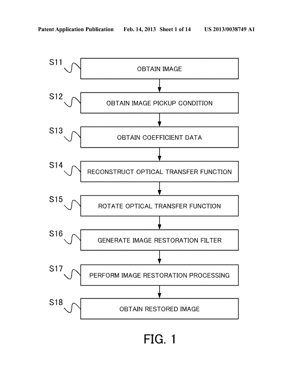 IMAGE PROCESSING METHOD, IMAGE PROCESSING APPARATUS, IMAGE PICKUP     APPARATUS, AND NON-TRANSITORY COMPUTER-READABLE STORAGE MEDIUM - diagram, schematic, and image 02