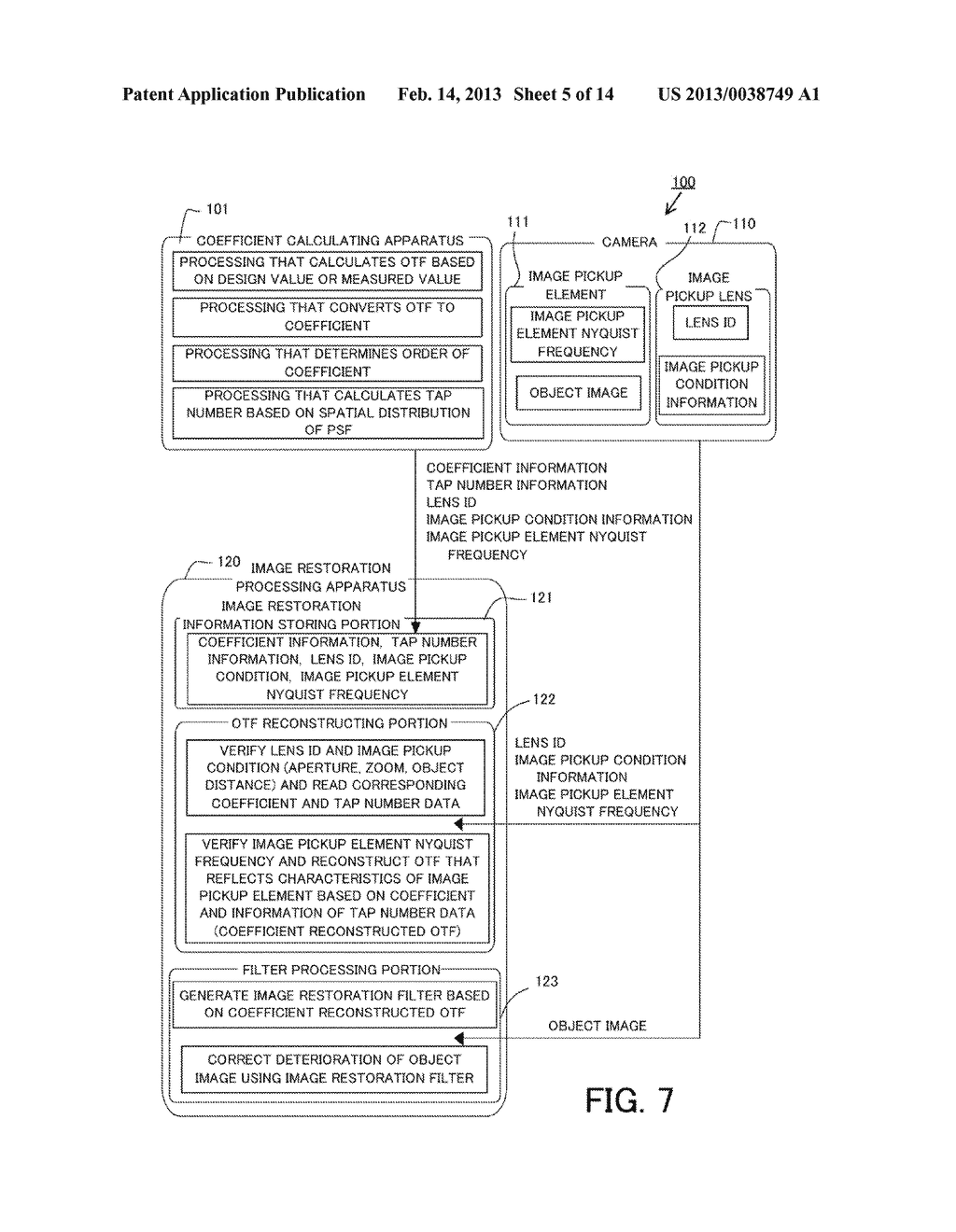 IMAGE PROCESSING METHOD, IMAGE PROCESSING APPARATUS, IMAGE PICKUP     APPARATUS, AND NON-TRANSITORY COMPUTER-READABLE STORAGE MEDIUM - diagram, schematic, and image 06