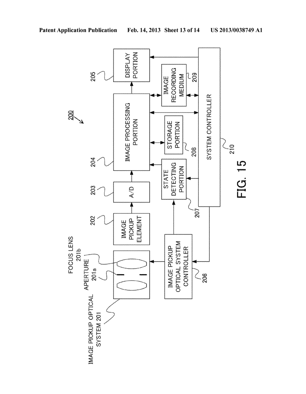 IMAGE PROCESSING METHOD, IMAGE PROCESSING APPARATUS, IMAGE PICKUP     APPARATUS, AND NON-TRANSITORY COMPUTER-READABLE STORAGE MEDIUM - diagram, schematic, and image 14