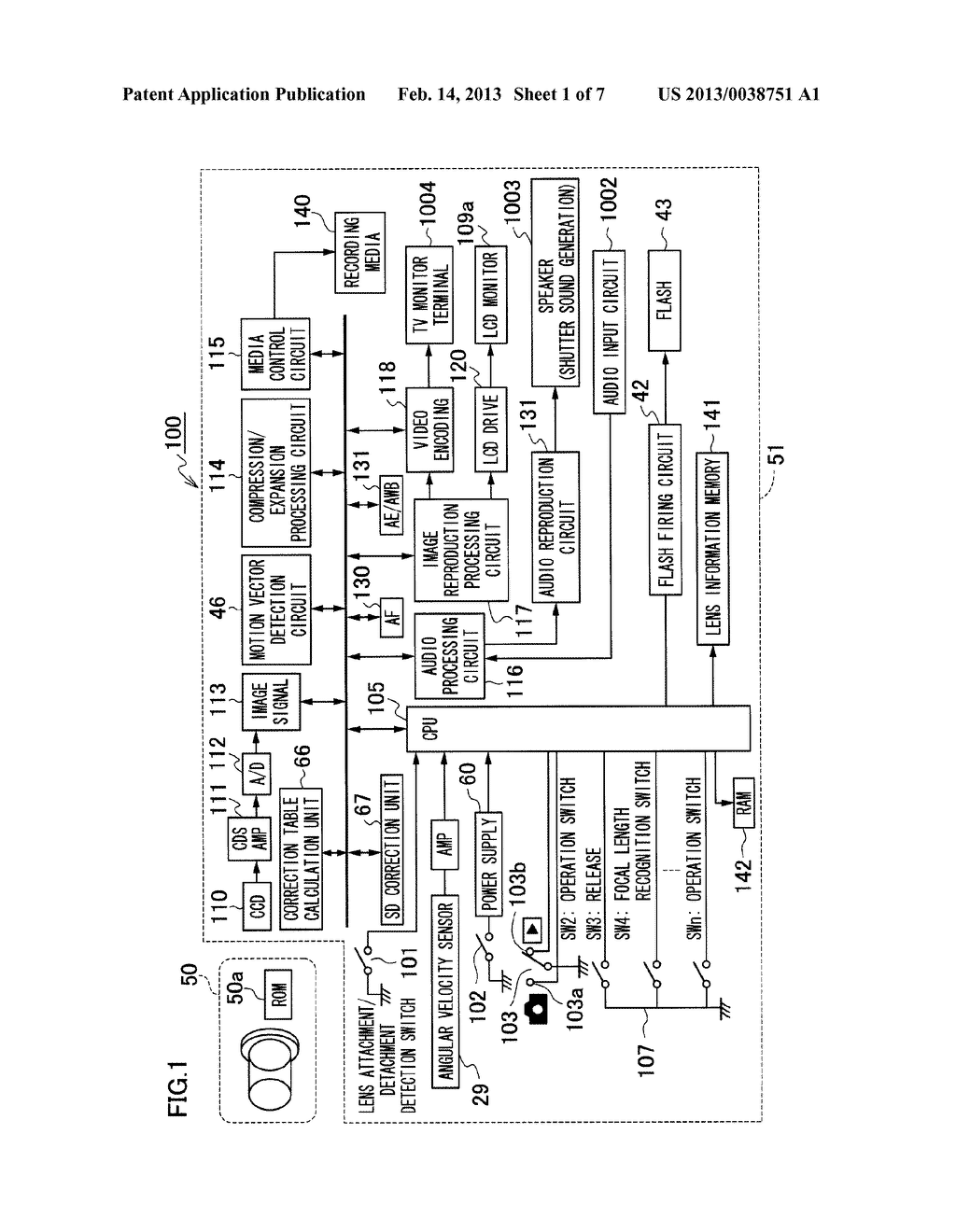 IMAGING APPARATUS, IMAGING APPARATUS BODY, AND SHADING CORRECTING METHOD - diagram, schematic, and image 02