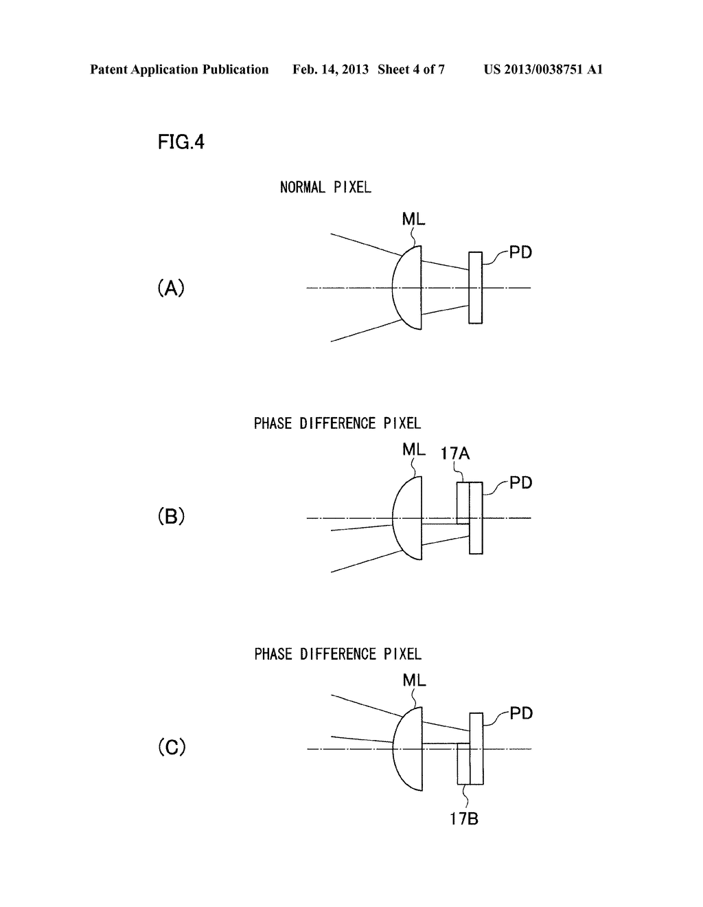 IMAGING APPARATUS, IMAGING APPARATUS BODY, AND SHADING CORRECTING METHOD - diagram, schematic, and image 05