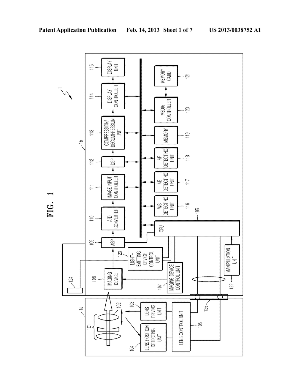 DIGITAL PHOTOGRAPHING APPARATUS AND METHOD OF CONTROLLING THE SAME FOR     SETTING A WHITE BALANCE - diagram, schematic, and image 02