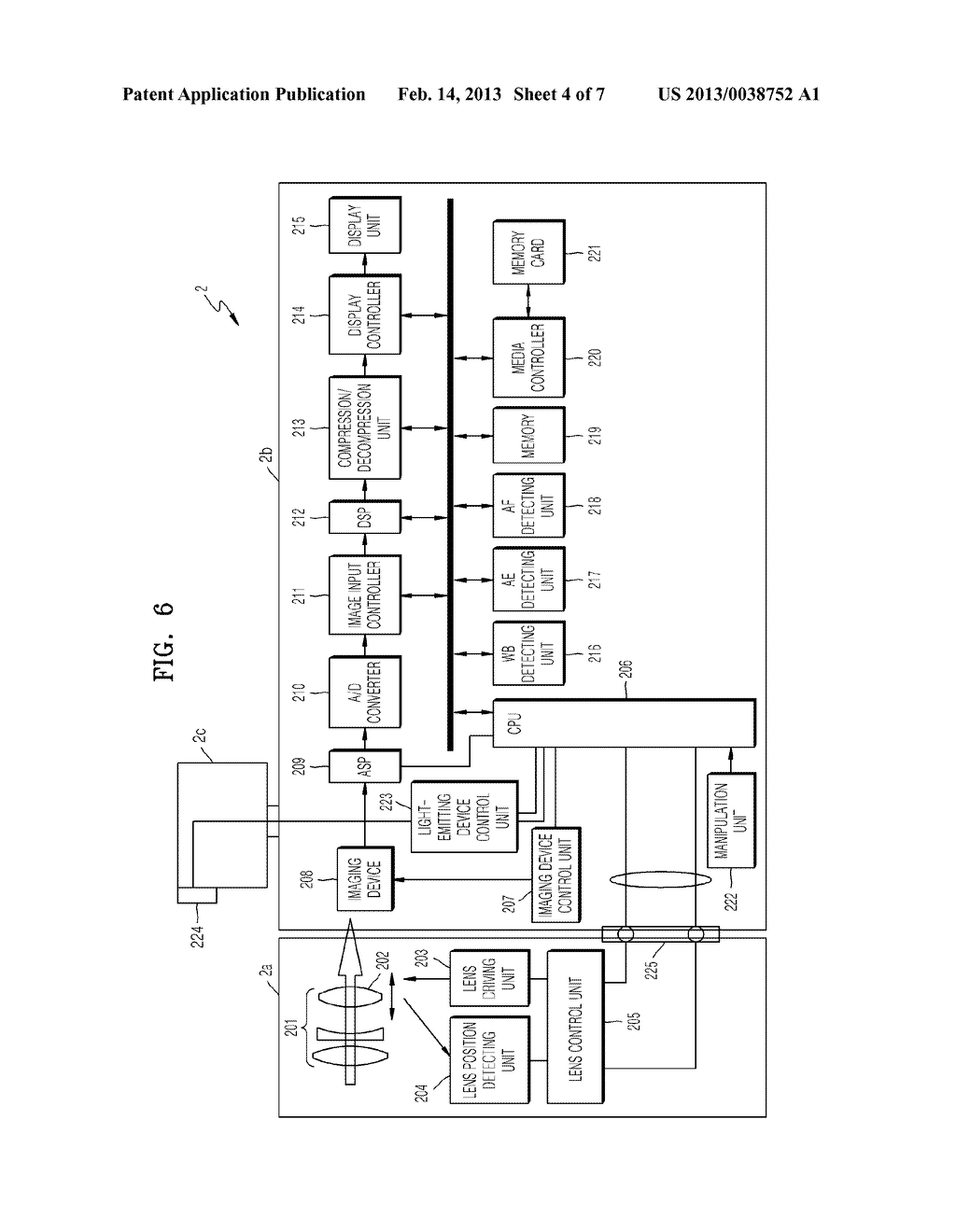 DIGITAL PHOTOGRAPHING APPARATUS AND METHOD OF CONTROLLING THE SAME FOR     SETTING A WHITE BALANCE - diagram, schematic, and image 05