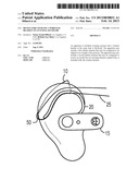 DEVICE FOR COUPLING A WIRELESS HEADSET TO AN EYEGLASS FRAME diagram and image