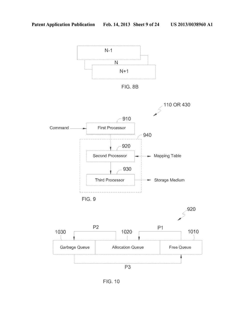 METHOD AND APPARATUS FOR CONTIGUOUS DATA ADDRESS MANAGEMENT - diagram, schematic, and image 10