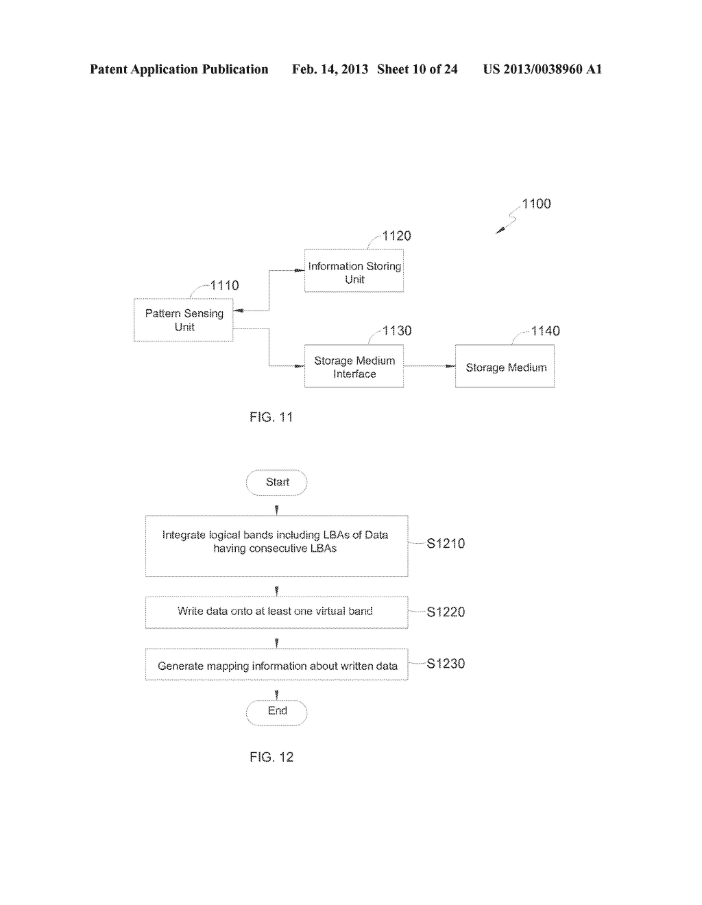 METHOD AND APPARATUS FOR CONTIGUOUS DATA ADDRESS MANAGEMENT - diagram, schematic, and image 11