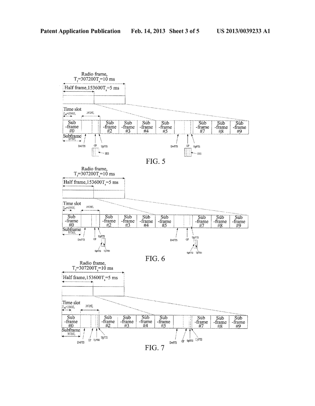 RADIO FRAME AND SOUNDING REFERENCE SIGNAL SENDING METHOD IN MOBILE     COMMUNICATION SYSTEM - diagram, schematic, and image 04