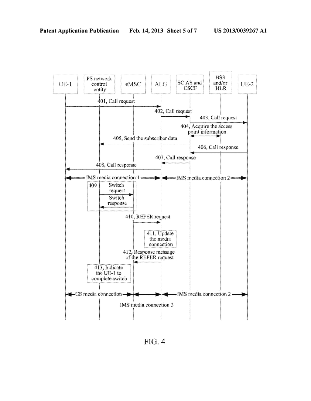 Method and System for Implementing Single Radio Voice Call Continuity - diagram, schematic, and image 06