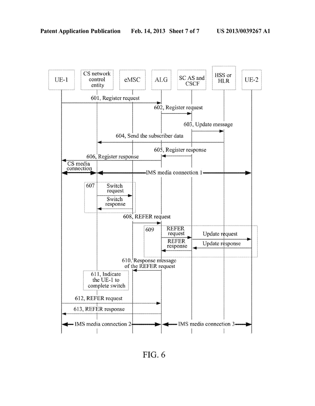 Method and System for Implementing Single Radio Voice Call Continuity - diagram, schematic, and image 08