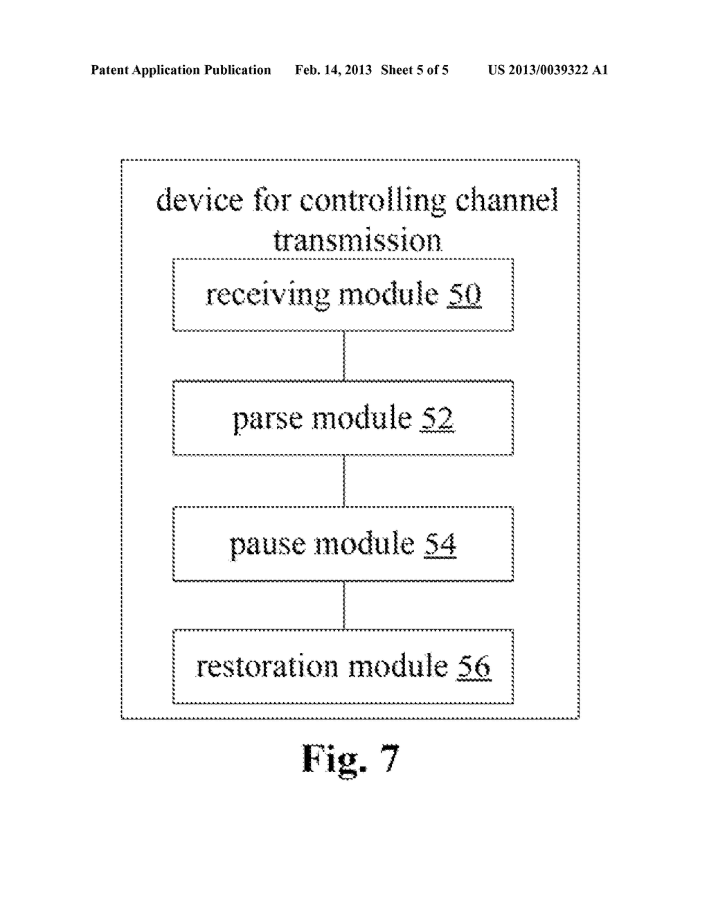 METHOD AND DEVICE FOR CONTROLLING CHANNEL TRANSMISSION - diagram, schematic, and image 06